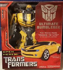 Ultimate Bumblebee Autobot Transformers Movie Highly Detailed Action Figure 2007