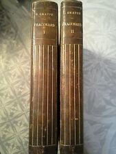 Fragonard, L'amour au dix-huitième siècle, Grappe 1913 2/2