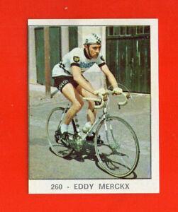 EDDY MERCKX BELGI  RARE STICKER  CAMP. dello Sport  66-67 #260 REMOVED SEE PHOTO