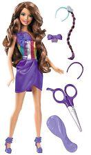 Mattel W3911 Cut & Style Barbie, brünett, Puppe, NEU , OVP