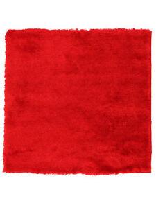 Hochflorteppich Breeze Quadratisch Rot