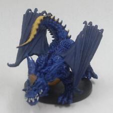 D&D Dungeons Dragons MINIATURES STORMRAGE BLUE DRAGON 31/60 ET07