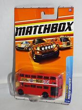 Matchbox Diecast 2010 City Action Series #71 Route Master Double Decker Bus Red