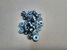 50 x (4mm) M4 x 1.5mm circolare RIVETTO Bush, Acciaio Inox