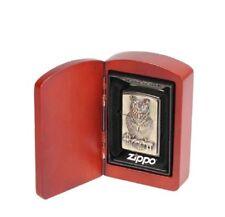 Zippo Owl of Wisdom Emblem Eule Limited Edition 0111/1000 mit Swarovski Elements