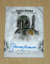 2018 Topps Star Wars Masterwork autograph Jeremy Bulloch BOBA FETT