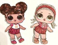 LOL Doll L.O.L. Glitter Hairbow Planar MC Swag Hoops MVP Dolls ConfettiPop Craft