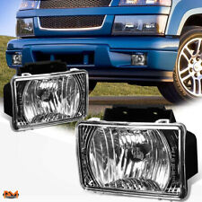 For 04-12 GMC Canyon/Chevy Colorado Black Housing Bumper Driving Fog Light/Lamp