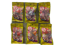 Lot of 6 Polly Pocket Tiny Takeaway Ring Necklace Set These Are Real Cute...
