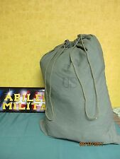 Military Barracks Laundry Bag Cotton Duffle Rucksack Swag Storage USGI Army GOOD