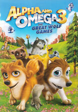 ALPHA & OMEGA 3 - THE GREAT WOLF GAMES (DVD)