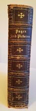 Pages & Pictures From The Writings of James Fenimore Cooper, Townsend, 1861, 1st
