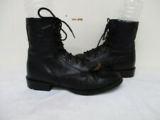 Ariat Black Leather Lace Paddock Boots Womens Size 6 B Style 33501