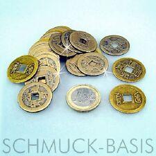 15 x chinesische Glücks - Münzen / Glücksbringer; Feng Shui