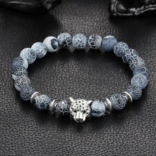Modeschmuck-Armbänder aus Stein mit Onyx-Hauptstein für Herren