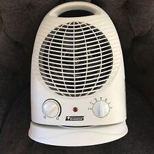 Everstar Electric Heater Fan Small Gray Multi-Direction 120VAC 60hz 1500w HFC15