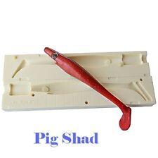 "Lure Bait Mold  Pig Shad  V396 8"" / 200 mm CNC Mold"