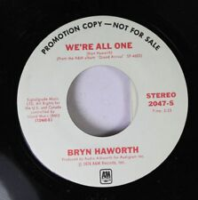Rock Promo 45 Bryn Haworth - We'Re All One / We'Re All One On A&M