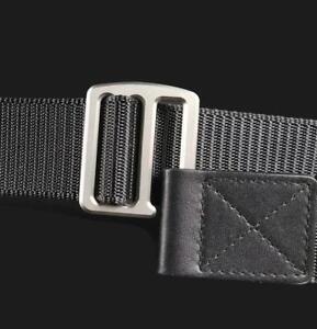 Casual Titanium / Carbon Fiber Belt Buckle with Nylon Belt Waistband For Men