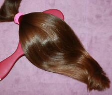HUMAN HAIR HAIRCUT 13 IN 2.8oz VERY BABYFINE CHILDS GOLDEN BRUNETTE PONYTAIL B79