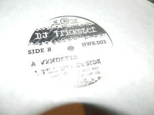 """DJ Trickster  – Vendetta / Tha Other Side  12"""" USED 1997  Hot wax records"""