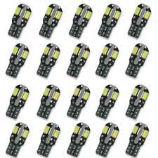 10pcs/set 5730 8 SMD LED SUPER WHITE BULBS 250LM T10 W5W 168 DC LIGHTS