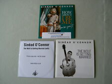 SINEAD O'CONNOR job lot of 3 promo CDs How About I Be Me (And You Be You)?