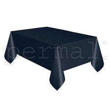 """54"""" x 108"""" Tablecloth Rectangle Plastic Party Color Table Cover BUY 2 GET 1 FREE"""