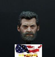 custom 1/6 Wolverine head LOGAN Ganghood Wordbox phicen hot toy ❶USA IN STOCK❶