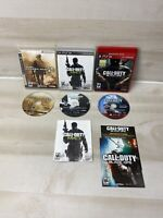 Call of Duty: Black Ops Modern Warfare 2 & 3 (Sony PlayStation 3 PS3) Lot Of 3