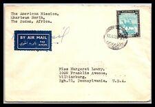 Gp Goldpath: Sudan Cover 1950 Air Mail _Cv515_P04