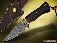 "10"" Long Custom Handmade Damascus Steel Hunting Knife Bowie Knife"