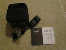 Clock Radio with Bluetooth Speaker -Capello Cr-60 Tune - Black