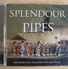 NEW SEALED - THE SPLENDOUR OF PIPES & DRUMS - Military Band Music CD Album