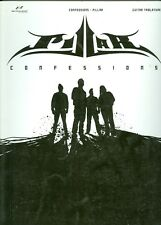 Pillar CONFESSIONS Recorded Versions Guitar tab songbook christian