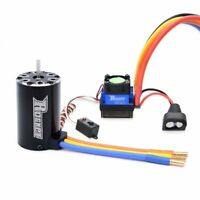 Surpass ROCKET 550 Brushless Motor +60A ESC for competition 1/10 RC Car Truck