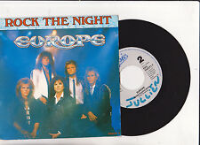 ♫ EUROPE   ♫  Rock the night ♫  45 tr 1985 CBS Epic 1717