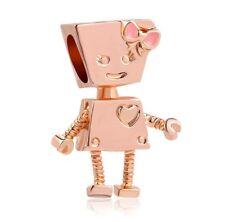 ROSE GOLD BELLA BOT ROBOT DOLL CHARM  - GENUINE BARGAIN LIMITED QUANTITY SALE !