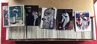 Collection Lot of 800 Assorted Pedro Martinez Baseball Card Years Companies