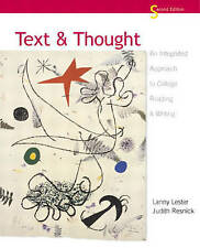 Text and Thought: An Integrated Approach to College Reading and Writing (2nd Edi
