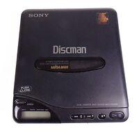 SONY D-66 DISCMAN COMPACT DISC CD PLAYER Mega Bass Untested