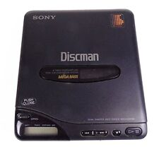 SONY D-66 DISCMAN COMPACT DISC CD PLAYER Mega Bass Untested