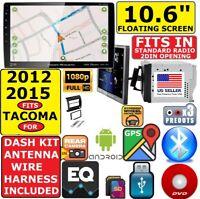 "FITS/FOR 12-15 TOYOTA TACOMA 10.6"" NAVIGATION BLUETOOTH USB CD/DVD CAR RADIO"