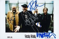 """Cheap Trick genuine autograph 5""""x7"""" photo signed In Person US Rock Band"""