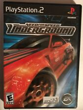 Need for Speed: Underground (Sony PlayStation 2, 2003) PS2