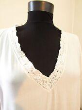 Vintage Antique Ladies Dress Gown Victorian Edwardian Net Lace Nightgown