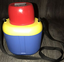 Vintage Crown Corning Kids Outdoor Thermique Thermos with Neck Strap Japan