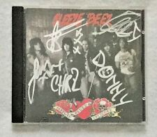 "Autographed Sleeze Beez ""Screwed Blued & Tattooed"" CD"
