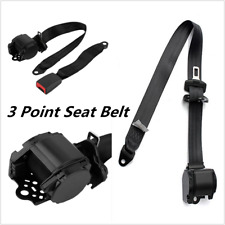 3 Point Retractable Car Seat Belt Round Seat Belts for Car Curved Rigid Buckle