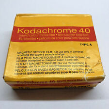 Kodak Kodachrome 40 Super 8 Sound Movie Film Kassette Cartridge 1995 Lomo COOLED